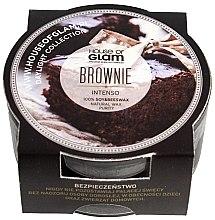 Parfumuri și produse cosmetice Lumânare parfumată - House of Glam Brownie Intenso Candle (mini)