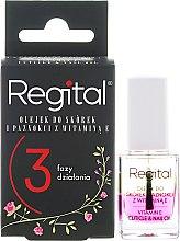 Parfumuri și produse cosmetice Ulei pentru unghii și cuticule 3 faze - Regital Three-phase Cuticle And Nail Oil