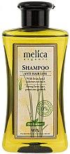 """Parfumuri și produse cosmetice Șampon pentru păr """"Hidratare"""" împotriva căderii părului - Melica Organic Anti-hair Loss Shampoo"""