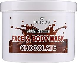 Parfumuri și produse cosmetice Mască pentru față și corp - Hristina Cosmetics Face & Body Chocolate Mask