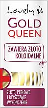 Parfumuri și produse cosmetice Balsam de întărire pentru unghii - Lovely Gold Queen