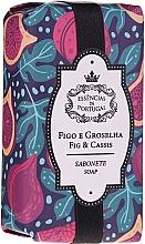 """Parfumuri și produse cosmetice Săpun natural """"Smochine și agrișe"""" - Essencias De Portugal Figs & Gooseberries Soap"""