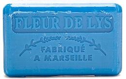 """Parfumuri și produse cosmetice Săpun de Marsilia """"Crin"""" - Foufour Savonnette Marseillaise Fleur de Lys"""