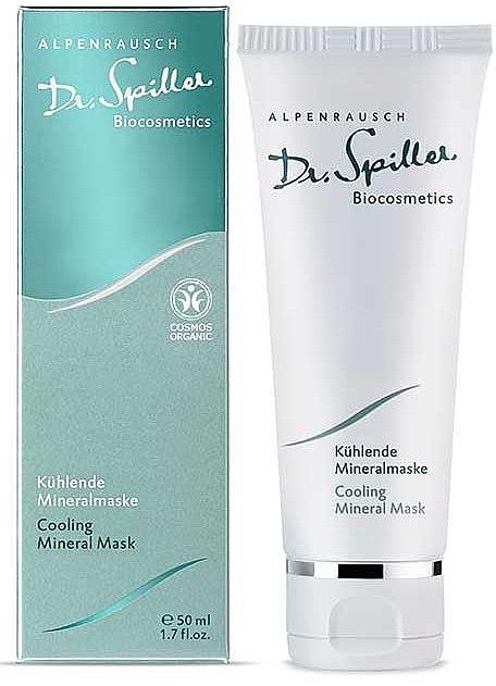 Маска охлаждающая минеральная - Dr. Spiller Alpenrausch Cooling Mineral Mask — фото N1