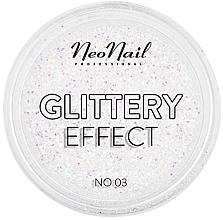 Parfumuri și produse cosmetice Pudră- glitter pentru unghii - NeoNail Professional Glittery Effect