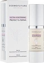 Parfumuri și produse cosmetice Ser facial regenerant - DermoFuture Ultra Soothing Protect & Repair Serum