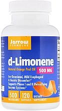 """Parfumuri și produse cosmetice Aditivi alimentari """"D-limonen"""" - Jarrow Formulas d-Limonene 500mg"""