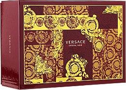 Parfumuri și produse cosmetice Versace Crystal Noir - Set (edp/90ml + edp/10ml + pounch)