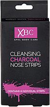 Parfumuri și produse cosmetice Plasturi de curățare cu cărbune, pentru nas - Xpel Marketing Ltd Body Care Cleansing Charcoal Nose Strips