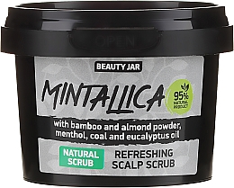 Духи, Парфюмерия, косметика Exfoliant pentru scalp - Beauty Jar Mintallica Refreshing Scalp Scrub