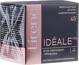 Parfumuri și produse cosmetice Cremă de zi pentru față - Lirene Ideale Pro 45+