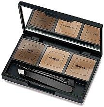 Духи, Парфюмерия, косметика Набор для коррекции бровей - Golden Rose Eyebrow Styling Kit