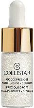 Parfumuri și produse cosmetice Iluminator pentru față - Collistar Precious Drops Face Highlighter Decollete
