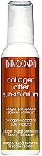 Parfumuri și produse cosmetice Colagen cu vitamina E, aloe vera și mătase după plajă - BingoSpa Collagen