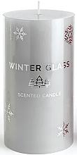 Parfumuri și produse cosmetice Lumânare parfumată, gri, 7x8cm - Artman Winter Glass