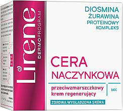 Parfumuri și produse cosmetice Cremă regenerantă de noapte pentru față - Lirene Redness Regenerating Night Cream Anti Wrinkle