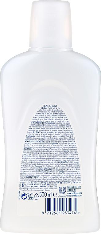 Agent de clătire pentru cavitatea bucală, fără alcool - Zendium Complete Protection — Imagine N2