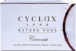 """Parfumuri și produse cosmetice Săpun ultra hidratant pentru corp """"Coconut"""" - Cyclax Nature Pure Coconut Ultra-Moisturising Cream Soap Bar"""