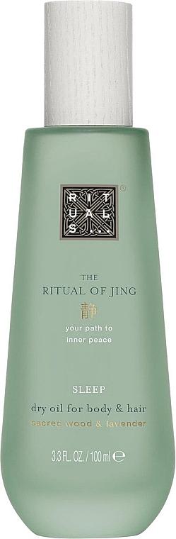 Ulei uscat pentru corp și păr - Rituals The Ritual of Jing Dry Oil
