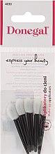 Parfumuri și produse cosmetice Aplicator pentru farduri, 5 buc., negru-alb - Donegal Eyeshadow Applicator