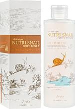 Parfumuri și produse cosmetice Toner nutritiv cu extract de mucină de melc - Esfolio Nutri Snail Daily Toner