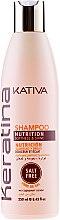 Parfumuri și produse cosmetice Șampon cu Keratină pentru nutriție și Regenerare - Kativa Keratina Shampoo