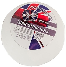 Parfumuri și produse cosmetice Benzi de ceară depilatoare în role, 100 m - Ronney Wax Strip Roll