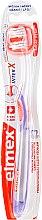 Parfumuri și produse cosmetice Periuță de dinți, violetă - Elmex Toothbrush Caries Protection InterX Soft Short Head