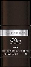 Parfumuri și produse cosmetice S.Oliver Superior Men - Deodorant