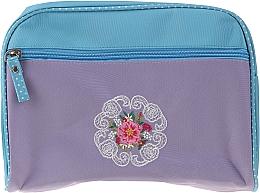 """Parfumuri și produse cosmetice Trusă cosmetică """"Mandala"""", 98161, mov-albastru - Top Choice"""