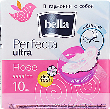 Parfumuri și produse cosmetice Absorbante Perfecta Rose Deo Fresh Drai Ultra, 10buc - Bella