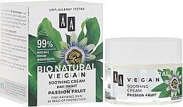 Parfumuri și produse cosmetice Cremă relaxantă pentru față - AA Cosmetics Bio Natural Vegan Passiflora Cream