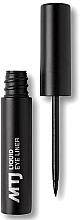 Parfumuri și produse cosmetice Eyeliner - MTJ Cosmetics Liquid Eyeliner