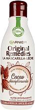 """Parfumuri și produse cosmetice Mască de păr cu lapte """"Cacao"""" - Garnier Original Remedies Disciplinary Cocoa Mask"""