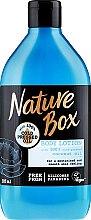 Parfumuri și produse cosmetice Lăptișor hidratant pentru corp - Nature Box Coconut Body Lotion