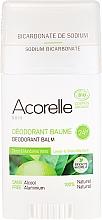 """Parfumuri și produse cosmetice Deodorant bio """"Lămâie și mandarină verde"""" - Acorelle Deodorant Balm"""