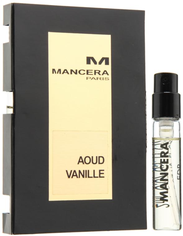 Mancera Aoud Vanille - Apă de parfum (mostră)