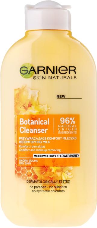 Lapte demachiant - Garnier Skin Naturals Botanical Flower Honey — Imagine N1
