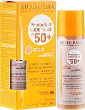 Parfumuri și produse cosmetice Loțiune protecție solară pentru piele - Bioderma Photoderm Nude Touch FPS 50 Claro