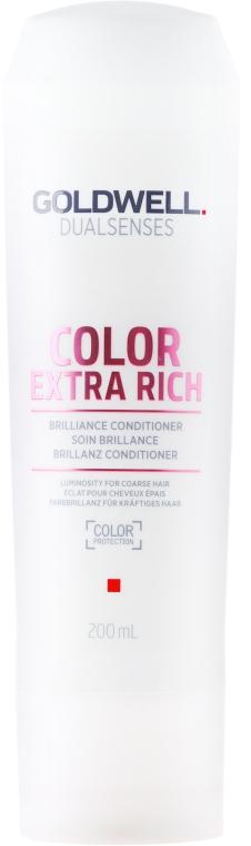 Интенсивный кондиционер для блеска окрашенных волос - Goldwell Dualsenses Color Extra Rich Brilliance Conditioner