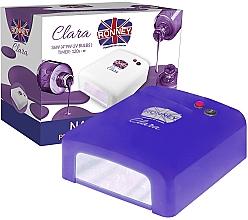 Parfumuri și produse cosmetice Лампа для ногтей UV, синяя - Ronney Profesional Clara UV 36W (GY-UV-818) Lamp