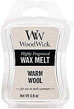 Parfumuri și produse cosmetice Ceară aromată - WoodWick Wax Melt Warm Wool