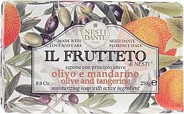 """Parfumuri și produse cosmetice Săpun """"Ulei de măsline și mandarină"""" - Nesti Dante Il Frutteto Soap"""