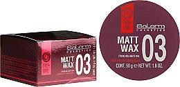 Parfumuri și produse cosmetice Ceară de păr - Salerm Matt Wax