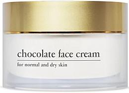 Parfumuri și produse cosmetice Cremă energizantă cu ciocolată pentru față - Yellow Rose Chocolate Face Cream