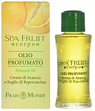 Parfumuri și produse cosmetice Frais Monde Spa Fruit Orange And Chilli Leaves Perfumed Oil - Ulei parfumat