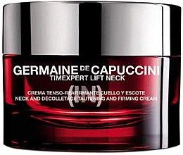 Parfumuri și produse cosmetice Cremă pentru gât și decolteu - Germaine de Capuccini TimExpert Lift (In)