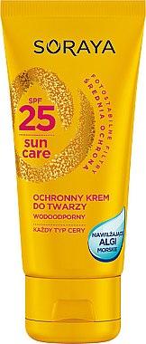 Cremă pentru față cu protecție solară - Soraya Sun Care Waterproof Face Cream SPF25 — Imagine N1