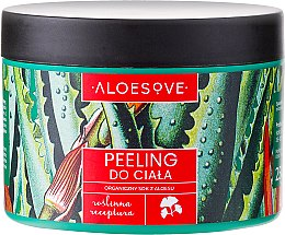 Parfumuri și produse cosmetice Peeling de corp cu suc organic de aloe - Aloesove