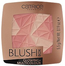 Parfumuri și produse cosmetice Fard de obraz - Catrice Blush Box Glowing + Multicolour